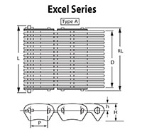 Excel Series Silent Chain Type A