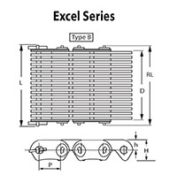 Excel Series Silent Chain Type B