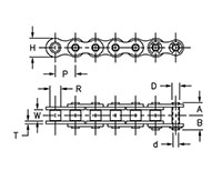 Precision Roller Chain Sprockets