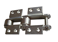 MSR Class Bushed Roller Steel Meat Packing Chains Image